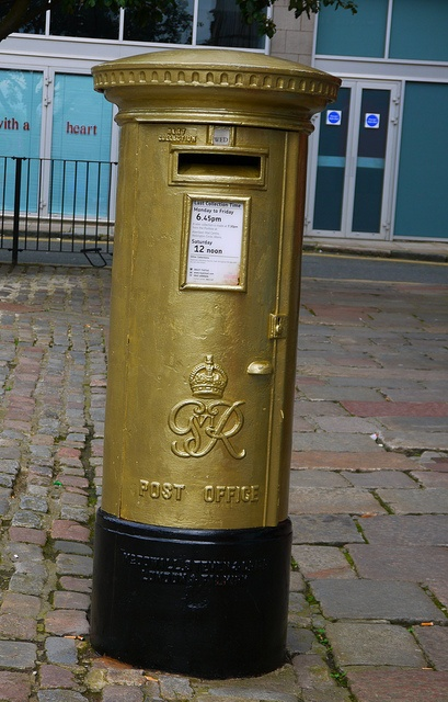 Not to be overlooked in 2012, Aberdeen is the proud home of not one but two golden postboxes to honour Neil Fachie (cyclist) and Katherine Grainger's (rowing) Olympic golds. There is another out at Westhill to mark Tim Baillie's (canoe slalom) success. They will be repainted red in due course.