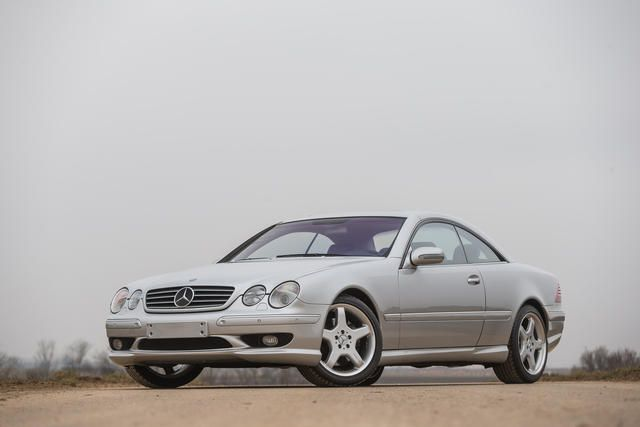 One of only 26 examples with the AMG V12 engine,2003 Mercedes-Benz CL63 AMG