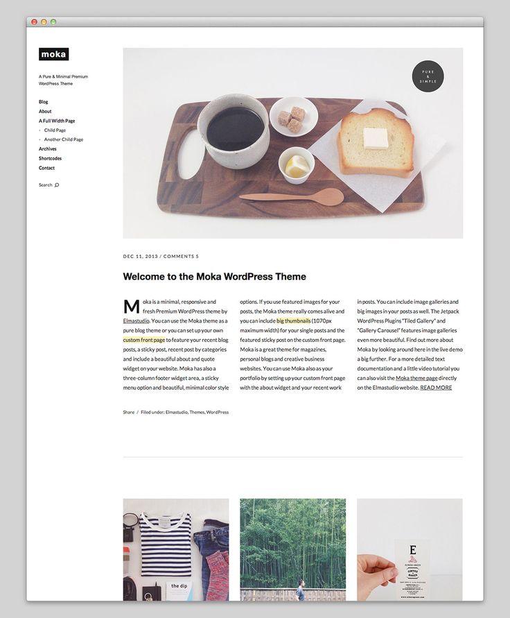 Moka Premium WordPress Theme
