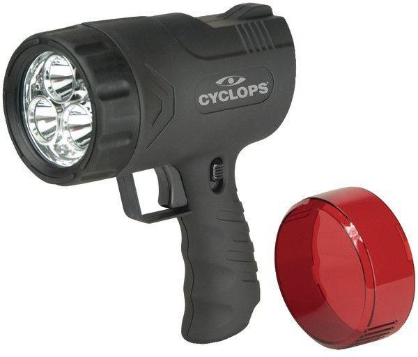 Cyclops - Thor X Sirius 9-Watt Rechargeable Handheld Spotlight Case Pack 4