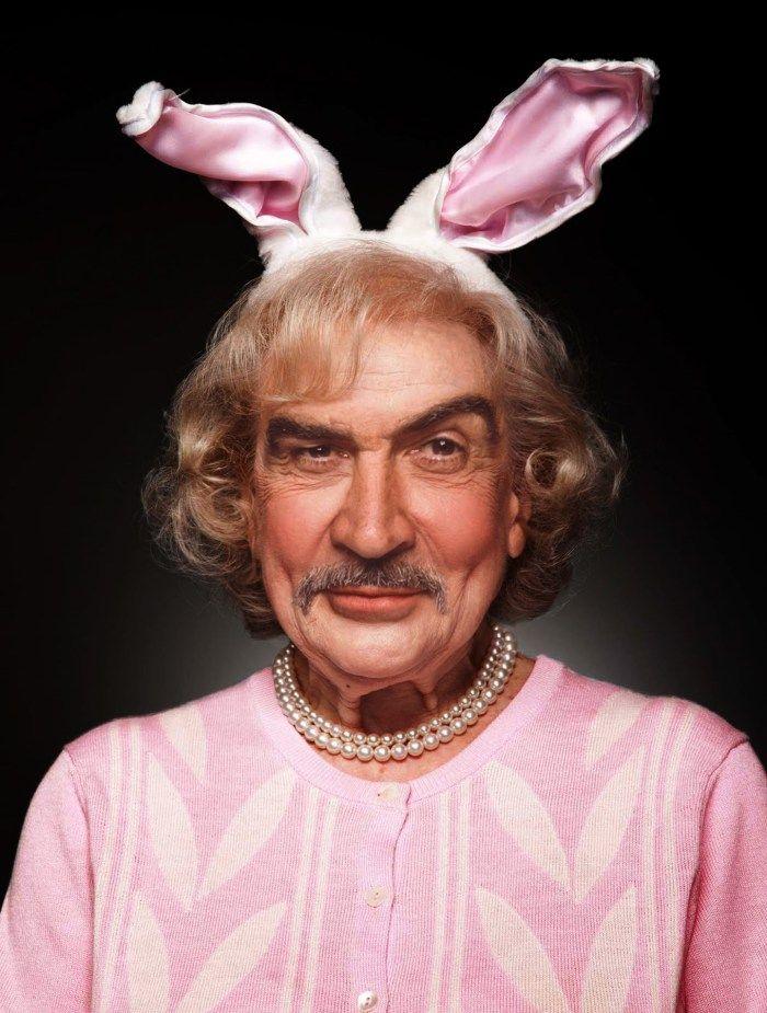 Celebrity Gender Swap Photos: Betty Bond