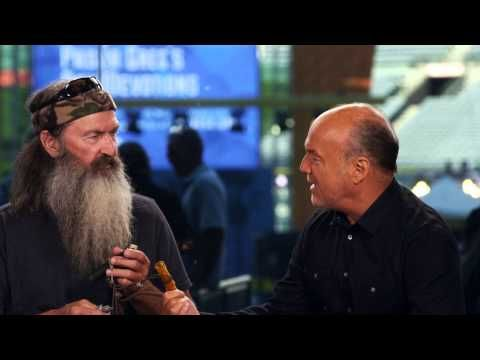 Two of my Favorite People.  Pastor Greg Laurie interviews Duck Commander Phil Robertson
