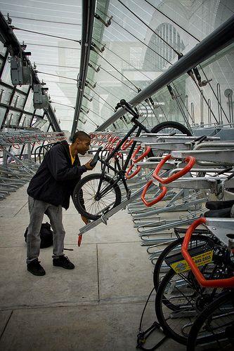Bike Parking, DC. Photo: Mikael Colville-Andersen. Visit the slowottawa.ca boards >> http://www.pinterest.com/slowottawa/