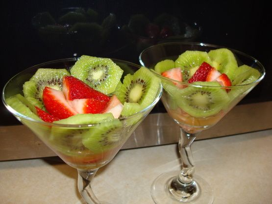 Rendezvous Of Strawberries And Kiwi Fruit Recipe - Food.com