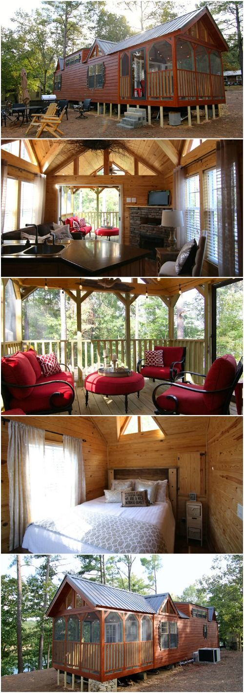 This Rustic Cabin In Alabama Takes Tiny Dwelling To A New Degree – Rustic River Par…