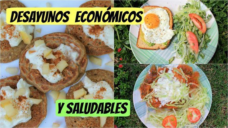 Desayunos económicos y saludables| Menos de 1 USD - YouTube