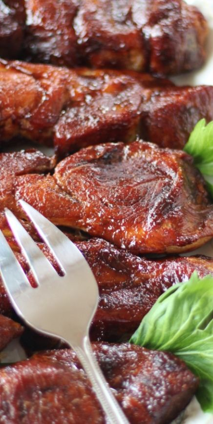 Oven BBQ Country-style Ribs: Did you know if you ask we can order ribs in for you? #bittnersgeneralstore #troutrun