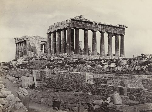 Francis Frith. The Parthenon, Athens, from the East (#623). c. 1860