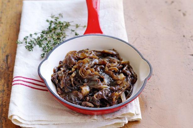 Caramelised Onion Jam Recipe - Taste.com.au