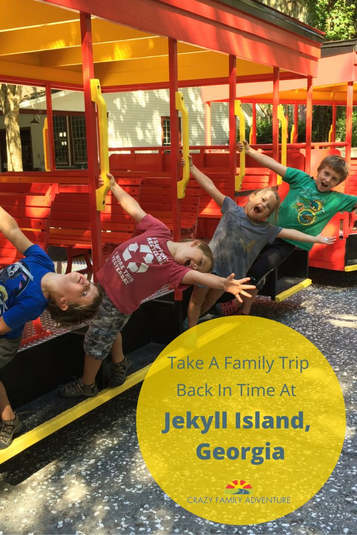 Family trip back in time at jekyll island family travel