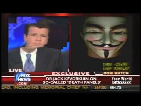 Anonymous Hacks into Fox News Live on Air!
