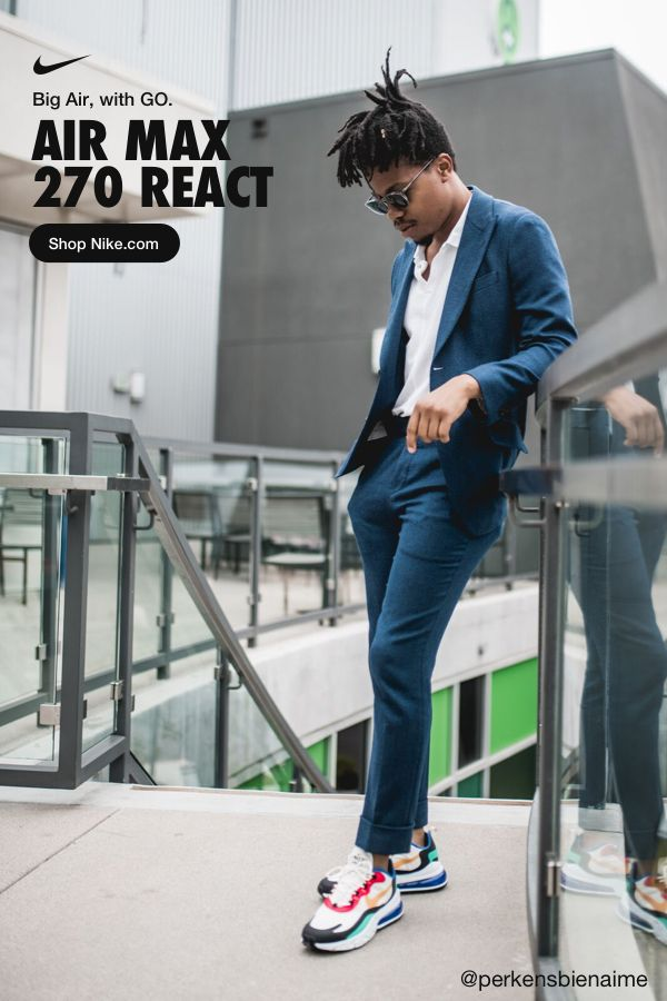 Nike Air Max 270 React Outfit Ideas : react, outfit, ideas, Parity, Fashion,