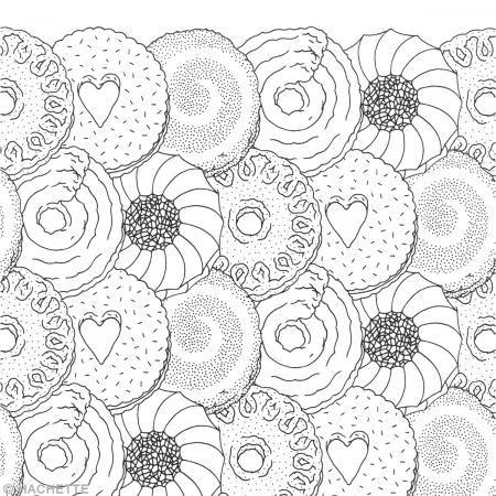 Livre coloriage adulte - 100 cupcakes à colorier - 25 x 36 cm - Photo n°3