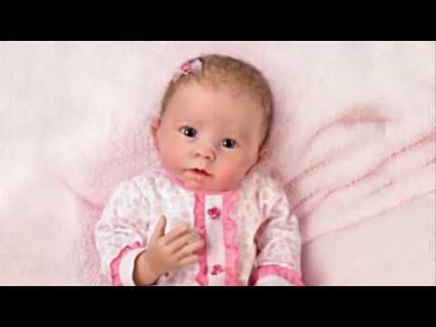 Katie Baby Doll Breathes, Coos And Has A Heartbeat by Artist Linda Murray