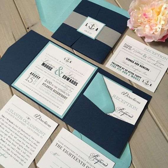 17 Best Ideas About Teal Wedding Invitations On Pinterest