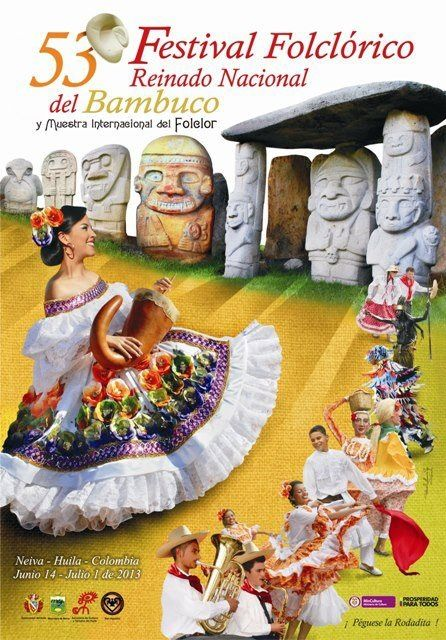 52 Festival Folclórico Reinado Nacional del Bambuco Neiva 2013