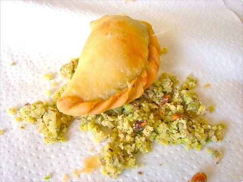 Ghughra - Traditional Indian Gujarati Diwali Festival Sweets