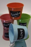 Colour Buckets, Metal & Zinc - Super Floral Distributors - Decor, Floral accessories and Crafters accessories in Cape Town