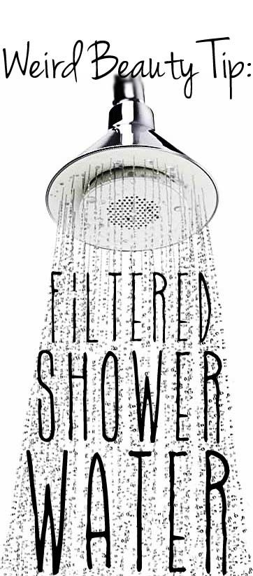 The benefits of using a shower water filter!