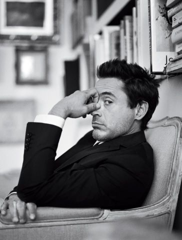 Robert Downey Jr. ...I got the feeling he can be sarchastic... one of those you want to have as a good friend...or far away!...Ha!