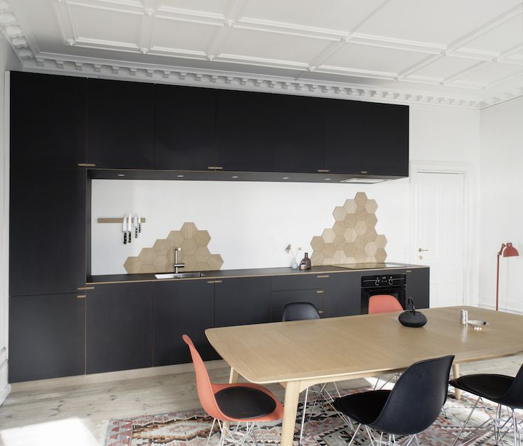 Minimalistic oakwood kitchen - by Nicolaj Bo™