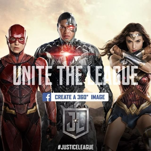"19.8 mil Me gusta, 141 comentarios - Justice League Movie (@justiceleague) en Instagram: ""Are you ready to #UniteTheLeague? Grab your best friends and form the ultimate Facebook 360 image…"""