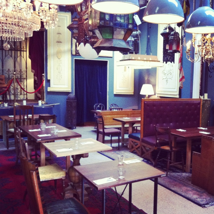 Reclamation and Cafe.  Brunswick House Cafe
