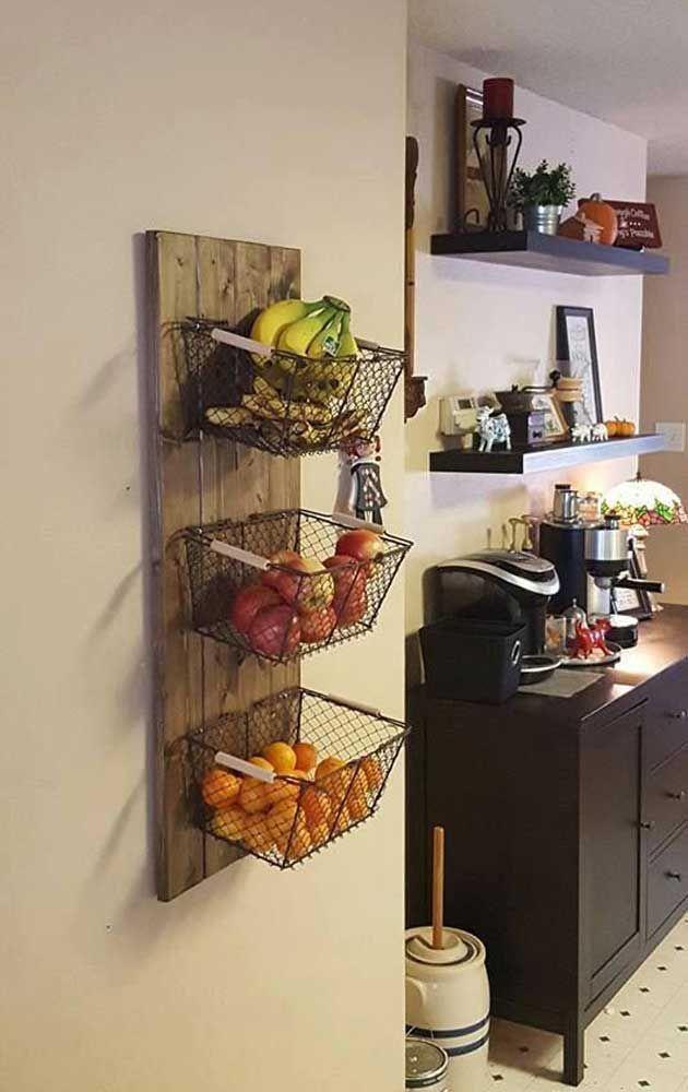 15 wahnsinnig coole Ideen für die Lagerung von frischem Obst und Gemüse