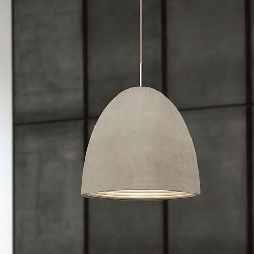 Concrete Pendant - Small - Milan Direct