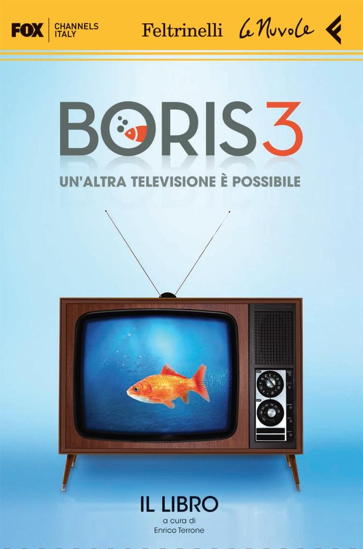 """""""Boris 3"""". Irriverente, cinica e tristemente reale, Boris 3 continua a bruciare il velo di conformismo che resiste sulla pelle della serialità nazionale lanciandosi nei territori proibiti della satira politica, provando a scardinare gli asfittici meccanismi cui i miserevoli intrecci tra potere e propaganda hanno abituato il pubblico della terra dei cachi."""