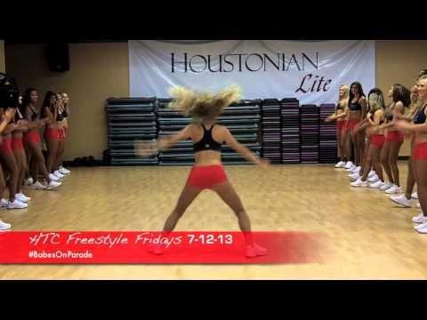 Houston Texans Cheerleaders FREESTYLE FRIDAYS 7-12-13! - YouTube