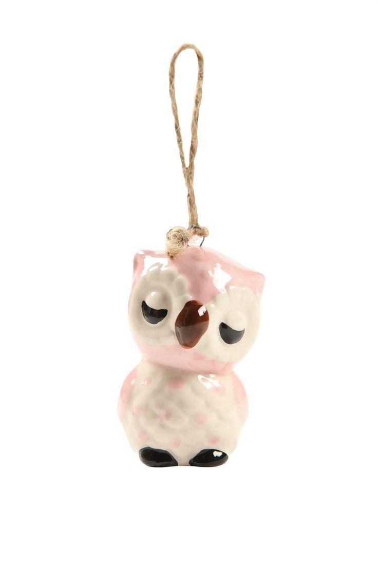 ceramic ornament #typoshop #christmas #decoration #xmas #tree #diy #owl #ornament