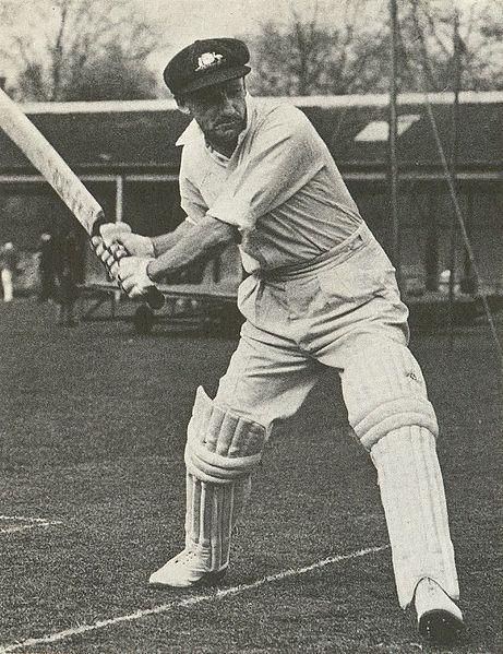Donald Bradman australian cricket player pic.