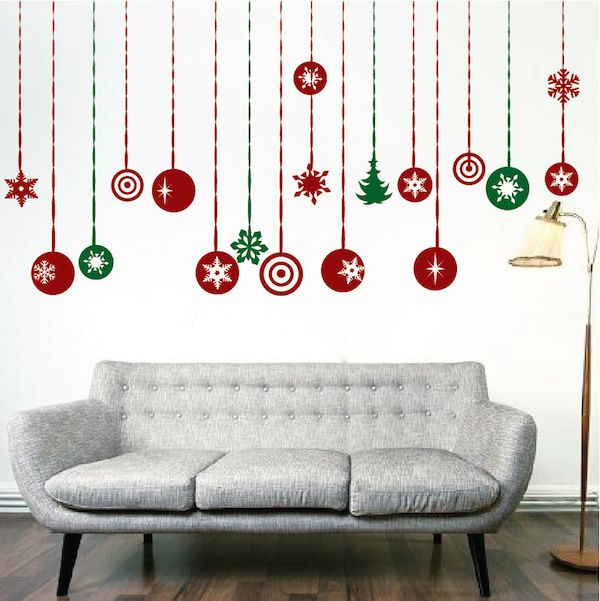 Trendy Design Wall Decals : Images about holiday wall decals on