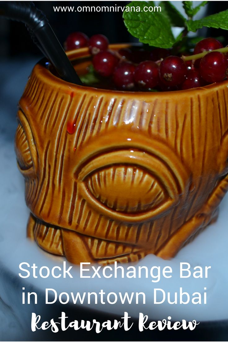 If you're looking for a fun and interesting bar in downtown Dubai, you'll want to check out the Stock Exchange bar. It is designed to look like a stock exchange and features multiple themed nights throughout the week to enjoy. Check out what our favorite drinks and food are at the Stock Exchange Bar in Downtown Dubai and don't forget to save this to your travel board so you can find it later.
