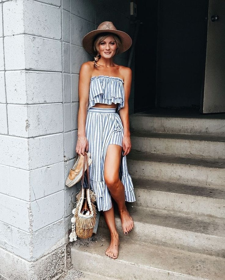 matching top and skirt for summer