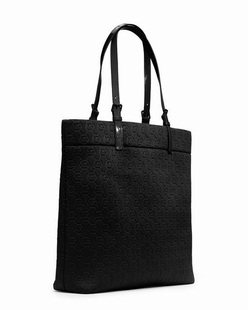 Michael Kors Jet Set Monogramm Neopren Tasche Schwarz Neopren 1 #Handbags#jewellery|#jewellerydesign}
