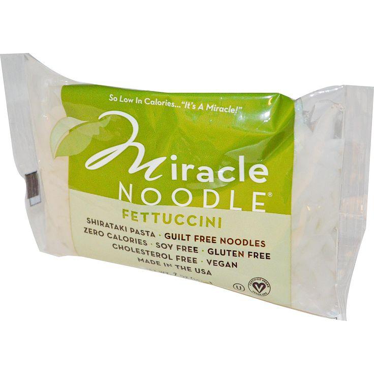 Miracle Noodle, Shirataki Pasta, Fettuccini, 7 oz (198 g)