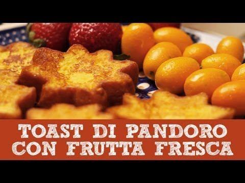Ricetta Toast Francese di Pandoro con Frutta Fresca | Dolci per Natale | Le Video Ricette di Andre