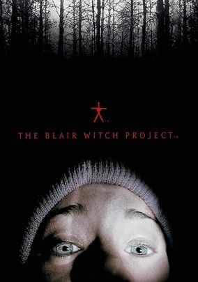 """The Blair Witch Project a 1999 American horror film.  Presented as """"found footage"""" pieced together from amateur footage, as a horror movie.  The story of 3 student filmmakers who disappeared while hiking in the Black Hills  The film received enormously positive reception from critics & went on to gross over 248 million worldwide, making it one of the most successful independent movies of all time.   Roger Ebert  gave the film 4 stars.  #30 on Bravo's """"100 Scariest Movie Moments"""""""