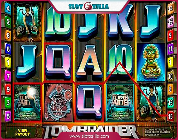 Tomb Raider free #slot_machine #game presented by www.Slotozilla.com - World's biggest source of #free_slots where you can play slots for fun, free of charge, instantly online (no download or registration required) . So, spin some reels at Slotozilla! Tomb Raider slots direct link: http://www.slotozilla.com/free-slots/tomb-raider