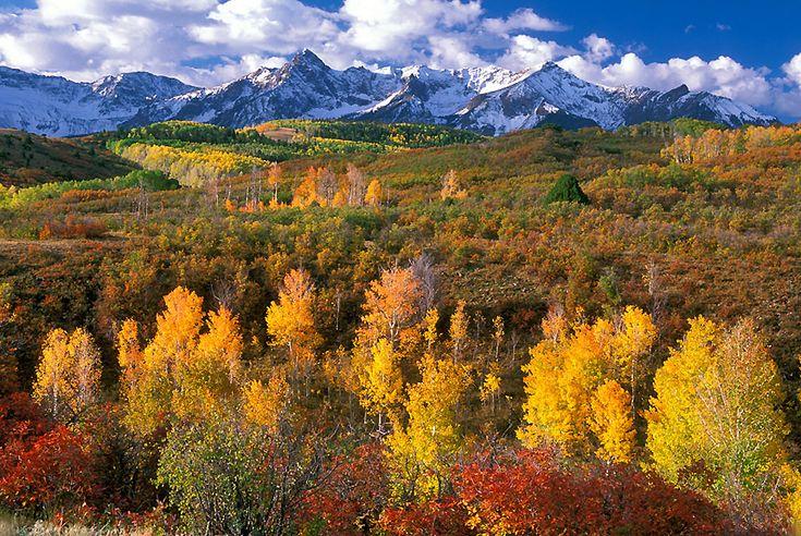 Dallas Divide (near Telluride, CO) in fall- breathtaking ...