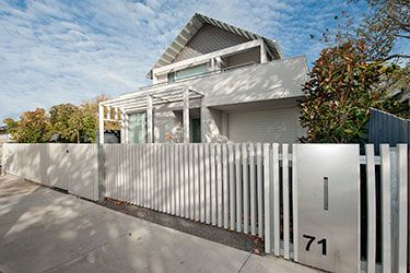 Modern Picket Fence