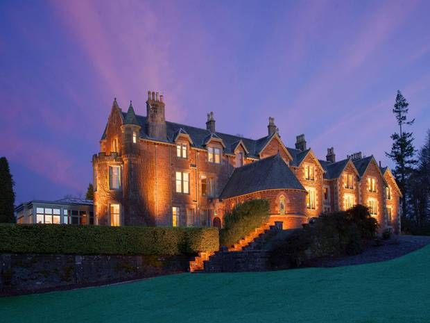 Rain doesn't stop profits at Andy Murray's £600-a-night hotel Cromlix House - Spend & Save - Money - The Independent