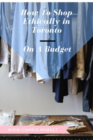 Following an ethical and sustainable lifestyle doesn't have to break the bank. Follow these simple tips and resources to help you find fair trade and unique businesses in Toronto that you'll love to shop with.