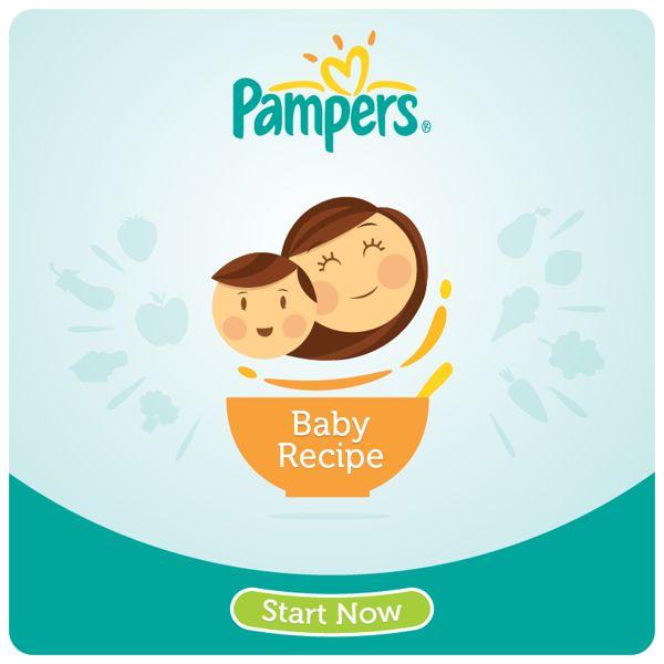 Pampers (Baby Recipe) - Facebook App by youssef wilson, via Behance