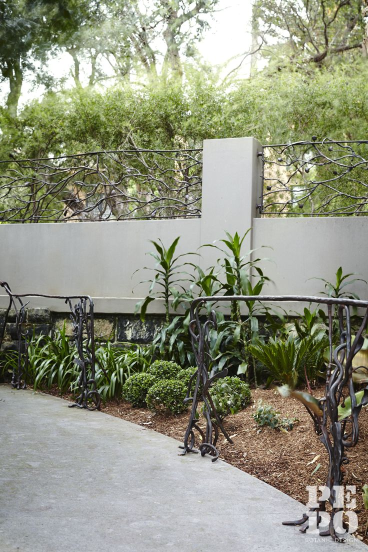 Botanically inspired metalwork by Francesco Petrolo Parsley Bay, Eastern Suburbs By Pepo Botanic Design