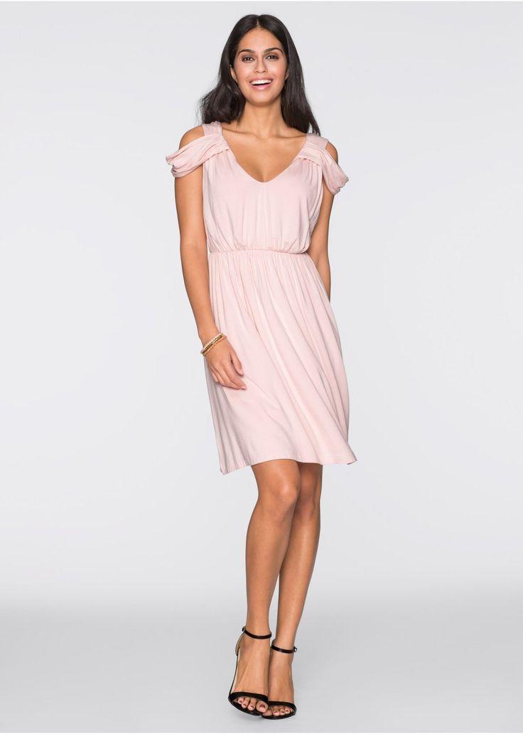 Sukienka z dżerseju Romantyczna • 89.99 zł • bonprix