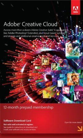 Adobe Creative Cloud is a creative hub that lets you download and install all Adobe Creative Suite 6 applications, access online services for file sharing, collaboration, and publishing, and benefit from new apps and features as soon as they become available-giving you the freedom to create anything you can imagine. Adobe Creative Cloud gives you a mobile workflow, from ideation to publishing, to bring the power of Adobe innovation to virtually any device. Price: $599.88