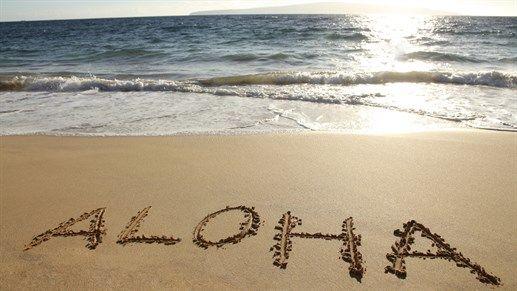 Tenkt at det går ann å studere på Hawaii med støtte fra Lånekassen! - Aloha written in the sand on Hawaii - Paradise! #kilroy #beach #travel #study